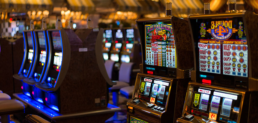 Image of a slot machine