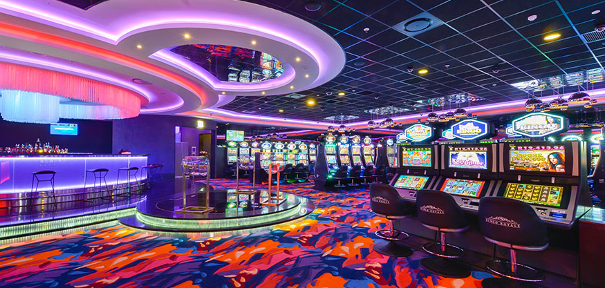 An image of the inside of a casino.